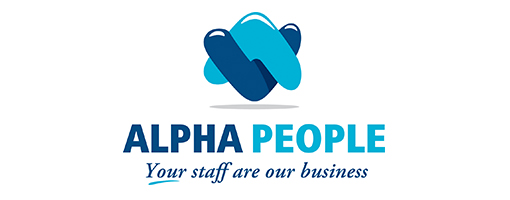 Alpha jobs recruitment agency Salisbury logo