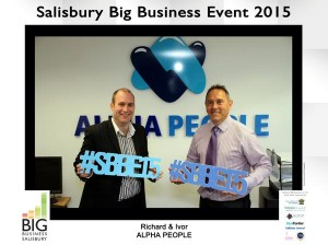 Richard & Ivor getting ready for #SBBE15